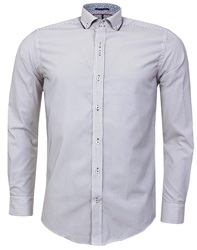 Guide London White Stripe Shirt