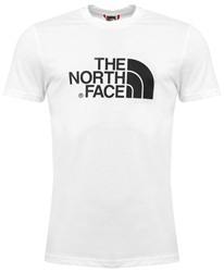 The North Face White Logo Tee