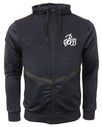 Bee Inspired Navy Zip Up Industry Track Hoody