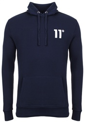 11degrees Navy Core Hoody