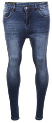 Sinners Attire Dark Wash Spray On Jeans