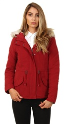 Only Red New Lucca Parka