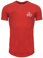 Bee Inspired Red Plain Signature Tee