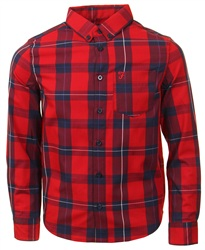 Farah Red Checked Shirt