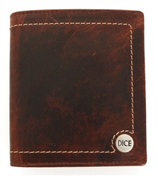 Dice Brown Wallet