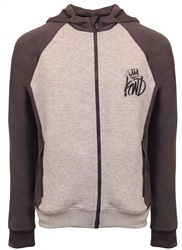 Kings Will Dream Grey Harlem Zip Hoodie