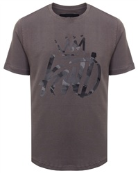Kings Will Dream Charcoal Grenley Scoop Tee