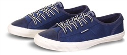 Superdry Navy Marl College Low Pro Luxe Trainers