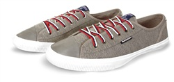 Superdry Grey Marl College Low Pro Luxe Trainers
