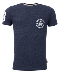 Superdry Navy Sport Pocket Tee