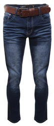 Crosshatch Denim Farrow Straight Leg Jeans