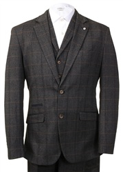 Kaymans Grey Carera Three Piece Suit
