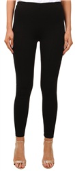 Vila Black Fellow Skinny Mid Rise Leggings