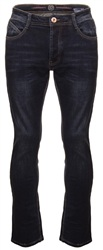 Eto Jeans Dark Denim Rio Tapered Fit Jeans