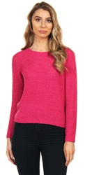 Only Pink Peacock Geena Knit Pullover