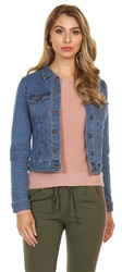Veromoda Medium Denim Hot Soya Denim Jacket