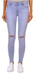 Superdry Dream Blue Ripped Alexia Jegging Jeans
