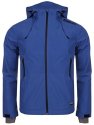 Superdry Electric Blue Hooded Elite Sd-Windcheater