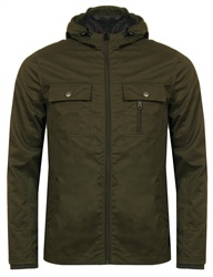 Threadbare Khaki Barcelona Jacket