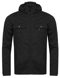 Threadbare Black Barcelona Jacket