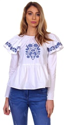 Fashion Union White Embellished Top