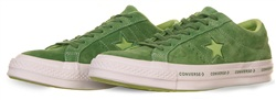 Converse Mint Green/ Jade Lime One Star Pinstripe