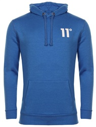 11degrees Cobalt Blue Core Overhead Hoody