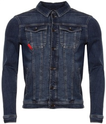 11degrees Indigo Denim Jacket