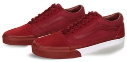 Vans Cabernet-White Bumper Old Skool Shoes