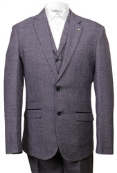 Cavani Blue 3 Piece Suit