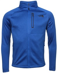 The North Face Blue Zip Fleece