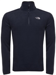 The North Face Navy Zip Fleece