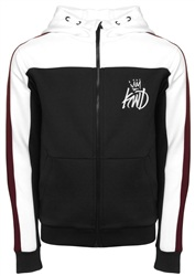 Kings Will Dream Black, White & Burgundy Hoody
