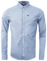 Superdry Sunset Pinpoint Oxford Long Sleeve Shirt