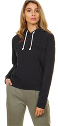 Jack Wills Black Thanet Hoodie