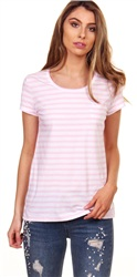 Jack Wills Pink Fullford T Shirt