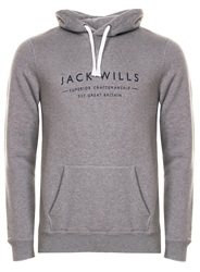 Jack Wills Grey Marl Jackw173f 008b 022