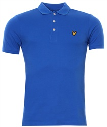 Lyle & Scott Lake Blue Polo