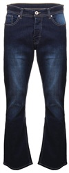 Dv8 Dark Blue Denim Bootcut Jean