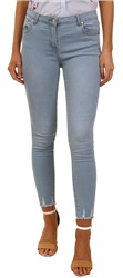 Parisian Light Blue Skinny Jean
