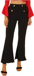 Parisian Black Flared Trouser