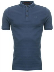 Dissident Blue Polo Shirt