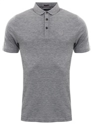 Dissident Grey Polo Shirt