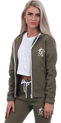 Gym King Khaki Jenner Track Top