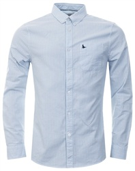 Jack Wills Sky Blue Wadsworth L/S Shirt