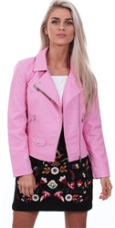 Only Bogonia Pink Summer Faux Leather