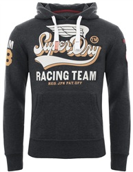 Superdry Midnight Marl Famous Flyers Hoodie