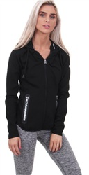 Superdry Black Gym Tech Luxe Zip Hoodie