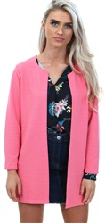 Only Sunkisk Coral Leco Textured Jacket