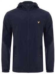 Lyle & Scott Navy Zip Jacket